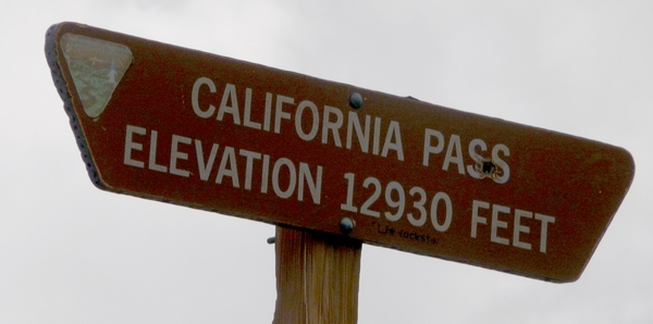 Calif pass sign