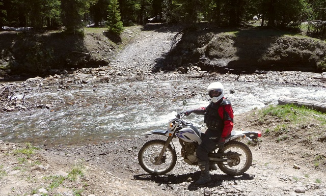 Dave at West Fork of Cimarron River