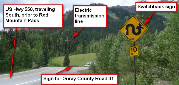 picture of entrance to ouray county 31