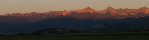 alpenglow on Cimarrons