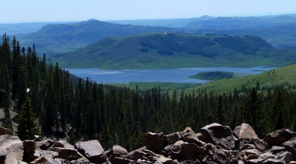 View of Groundhog Reservoir