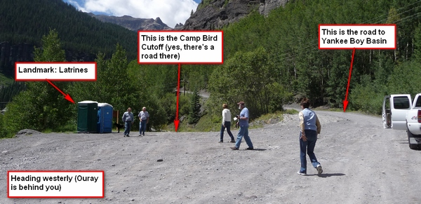 Camp Bird Cutoff