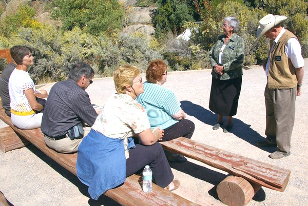Visitor Center guides