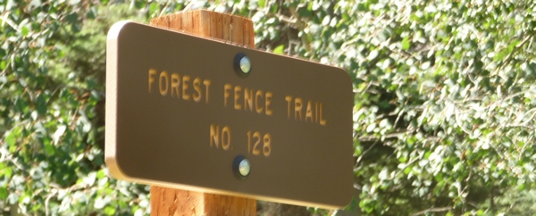 Forest Fence sign
