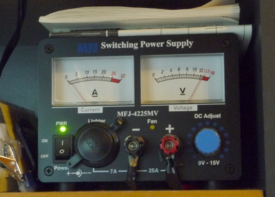 MFJ-4225MV power supply