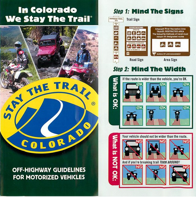 Stay the trail page 1 and 2