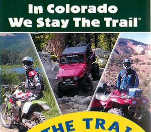 Stay on the trail in Colorado!