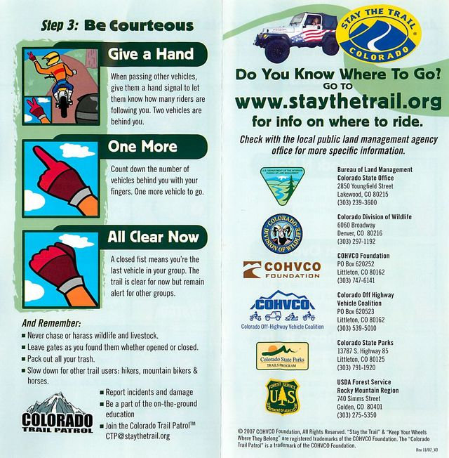 Stay the trail page 3