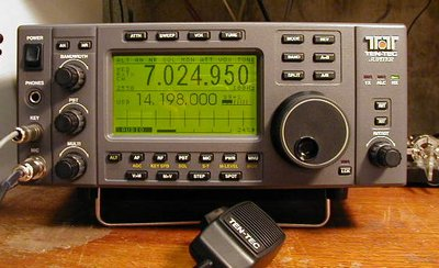 My Ten-Tec Jupiter HF Radio