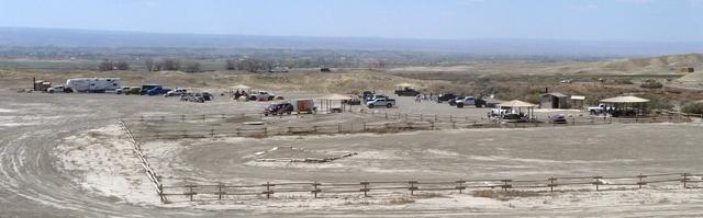 Peach Valley parking area near Olathe, Colorado