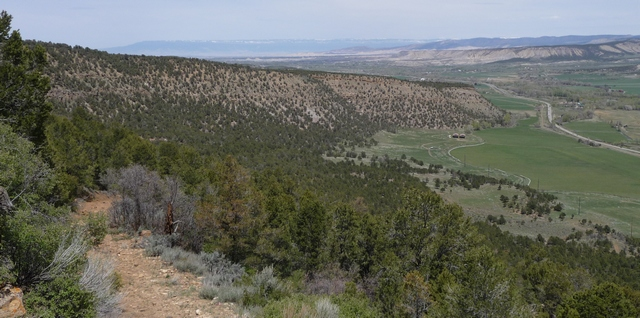 Pinion Ridge overlooking Hwy 550