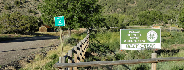 Ouray County Road 2 entrance