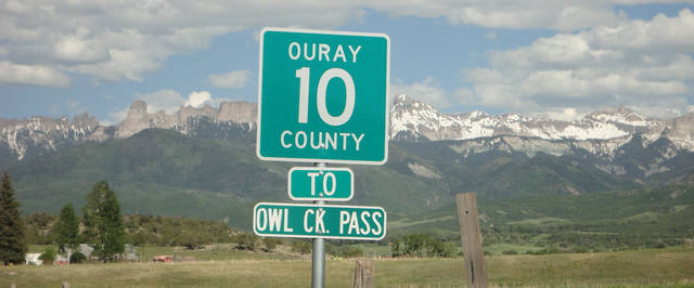 Ouray County Road 10