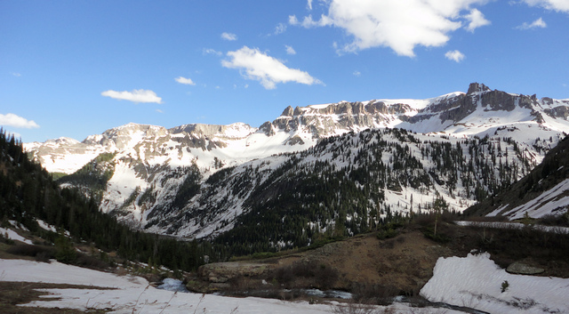 Yankee Boy Basin from Pin 1