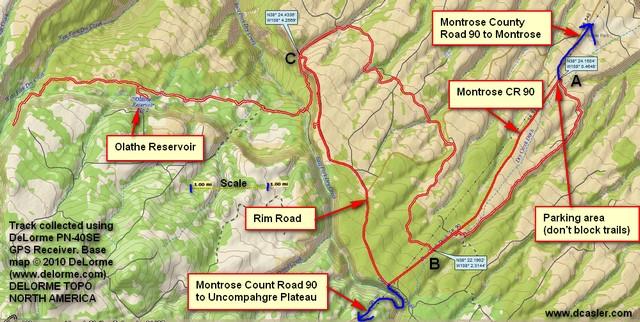 Dry Creek Canyon ride