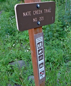 Nate Creek Trailhead