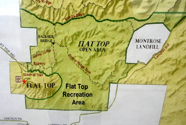 flattop free riding area