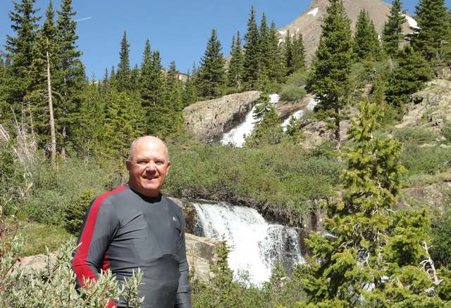 Gary at Yankee Boy Basin