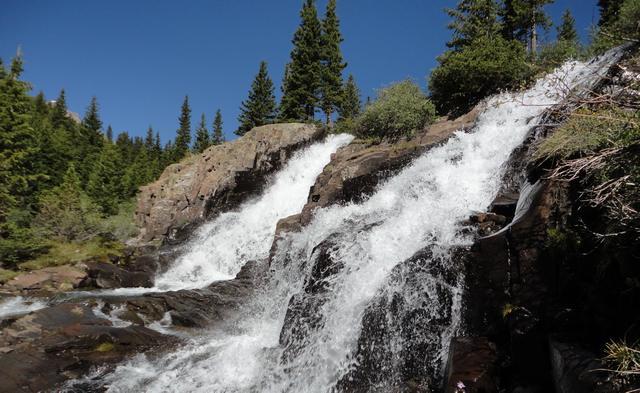 Twin Falls at Yankee Boy Basin