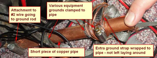 clamps pipe Amateur radio