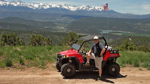 Gary and his Polaris RZR