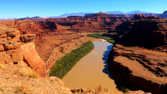 The view from the Thelma and Louise overlook.